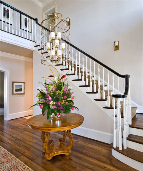 staircase decor astonishing black entryway table decorating ideas gallery