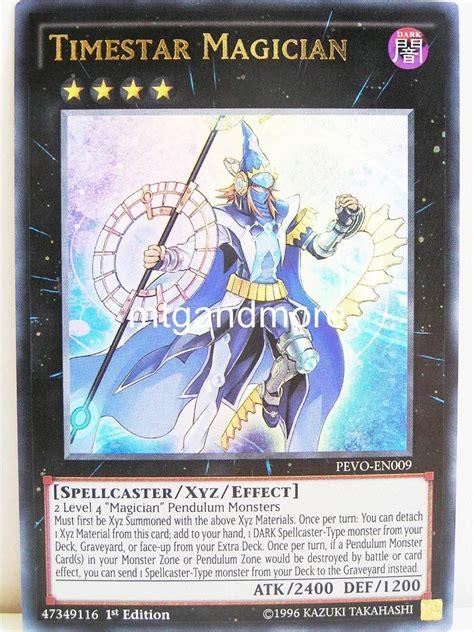 Yugioh Timestar Magician Original yugioh 009 timestar magician pendulum evolution mtgandmore de