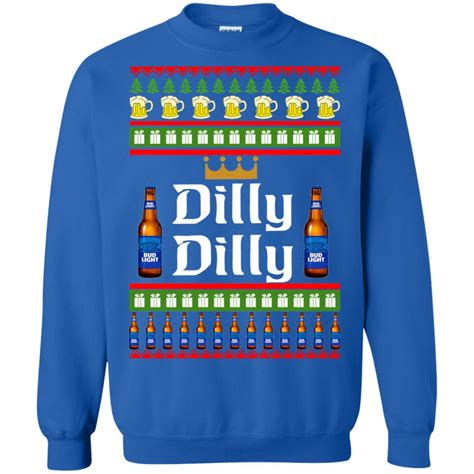 dilly dilly bud light commercial bud light dilly dilly sweater sweatshirts