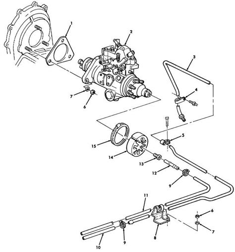 Home Design 40 50 Figure 17 Fuel Injection Pump And Fuel Filter Lines