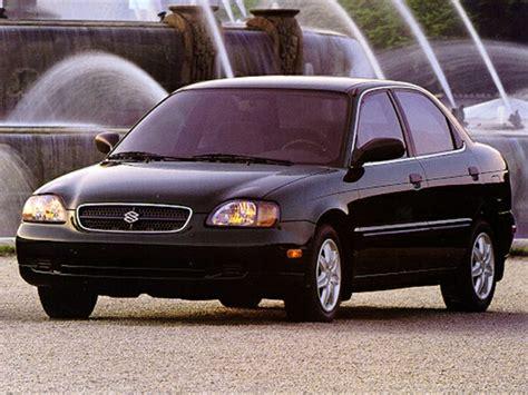 Suzuki Esteem Reliability 1999 Suzuki Esteem Specs Safety Rating Mpg Carsdirect