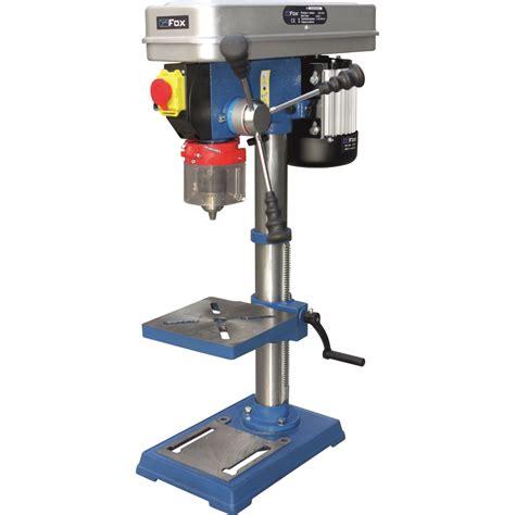 bench top pillar drill fox f12 941 bench top pillar drill drill press poolewood