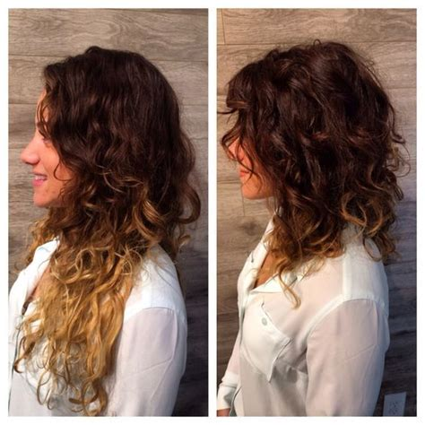 super lob curled naturally curly lob google search pinteres
