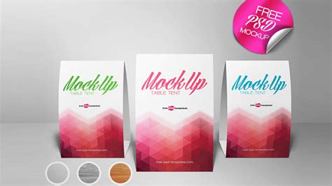 tent card template psd free 20 table tent card mockups psd templates