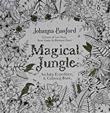 magical jungle an inky 0753557169 amazon com magical jungle an inky expedition and coloring book for adults turtleback