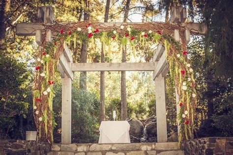 Rustic Wedding Arch Uk by Best 20 Indoor Wedding Arches Ideas On