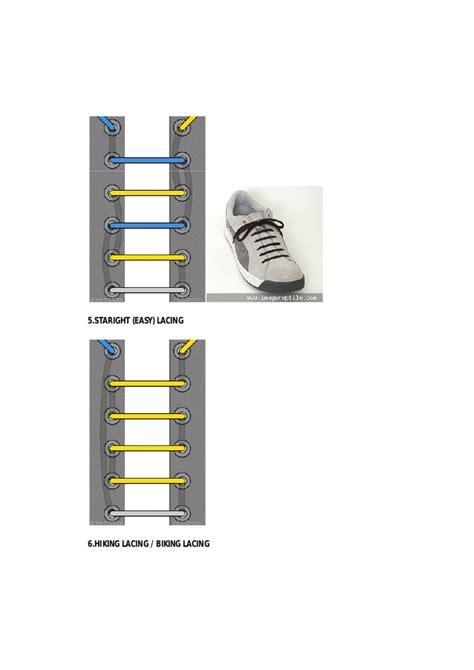 tutorial tali sepatu ladder cara mengikat tali sepatu