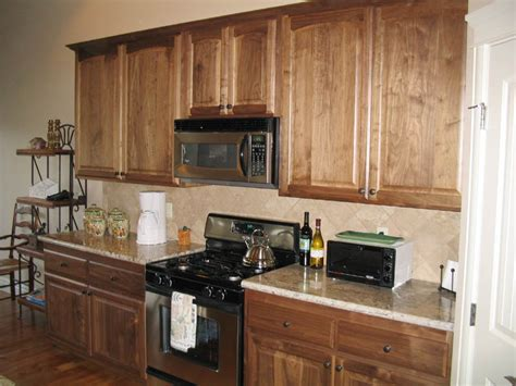 Natural Walnut Kitchen Cabinets | cabinet refacing as economical friendly solution my