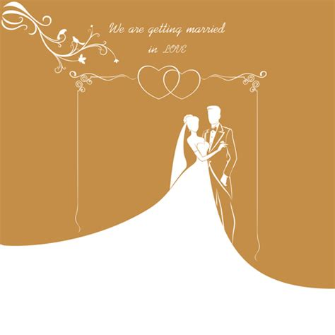 Wedding Card Eps by Wedding Gold Invitation Card Vector 02 Vector Card Free