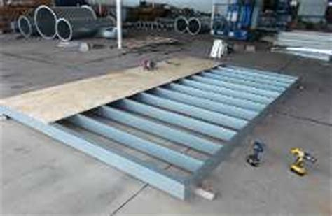 Metal Shed Floor by Build A Shed Floor Support Issa