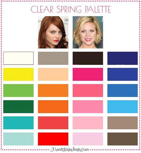clear winter color palette 264 best color analysis clear color palette images