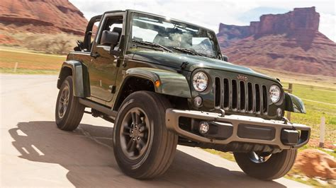 75th Anniversary Jeep Wrangler Jeep Wrangler 75th Anniversary Edition Gets Array Of New
