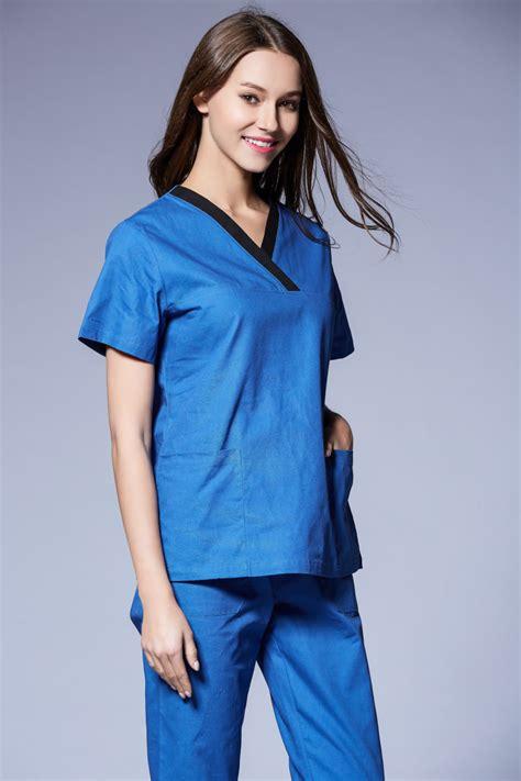 Supplier Realpict Med Top By Alijaya 1 aliexpress buy ss2016 new scrubs 100 cotton sleeve scrub uniforms set