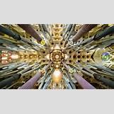 Gaudi Sagrada Familia Ceiling | 1555 x 889 jpeg 1415kB