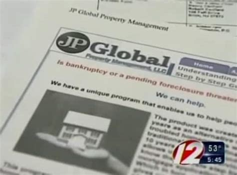 global property management avoid foreclosure scheme feeds on desperate people