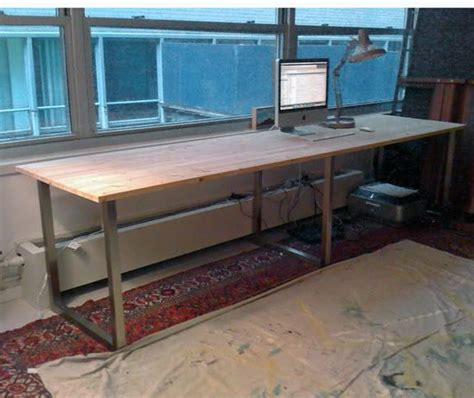 long computer desk pinterest the world s catalog of ideas