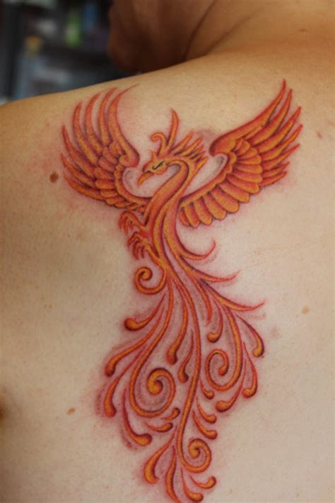 phoenix tattoo red phoenix tattoos and designs page 61