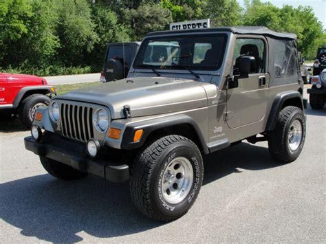 Jeep Gilbert Jeep Wrangler Sport Stk 697 Gilbert Jeeps And 4x4 S