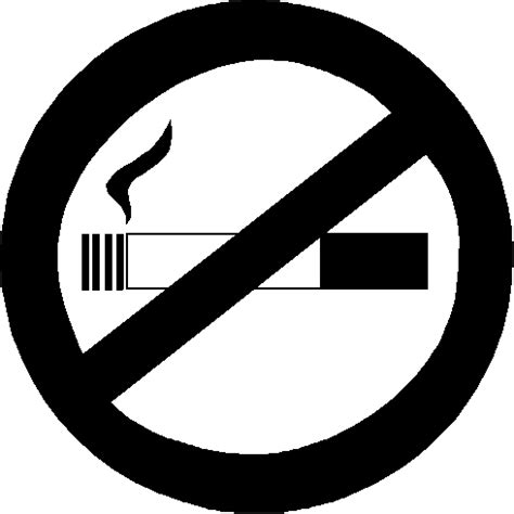 no smoking sign black and white no smoking clip art clipart best