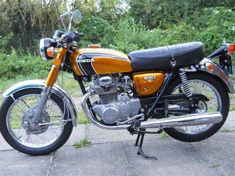 honda cb 250 k4 sold 1974 on car and classic uk c525103