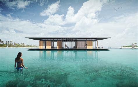 floating house design minimalist mobile floating house idesignarch interior design architecture