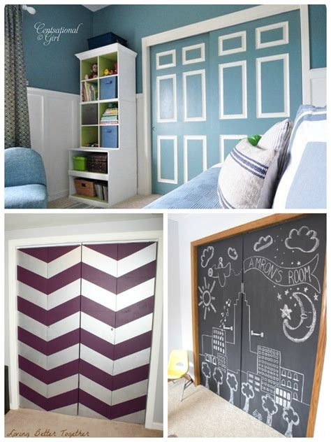Closet Paint Ideas by Remodelaholic Bi Fold To Paneled Door Closet Makeover