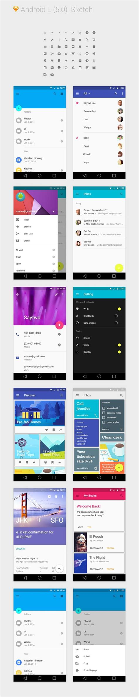 3 mobile website 17 best ideas about android app design on app
