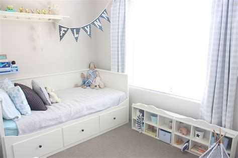 ikea shelves hemnes daybed   boys bedroom  dream