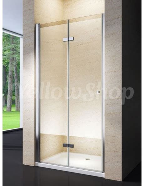 porte in cristallo per doccia porta per nicchia doccia apertura libro soffietto in