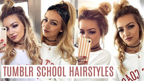 Hairstyles For Hair For School 2017 by Easy School Hairstyles 2017