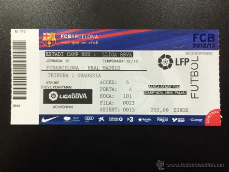 entradas at madrid barcelona entrada entera fc barcelona real madrid liga comprar