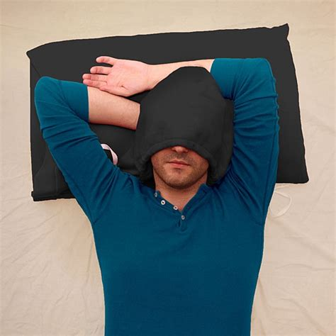Pillow With Hoodie hoodiepillow pillowcase is a pillow that you can wear well sort of technabob