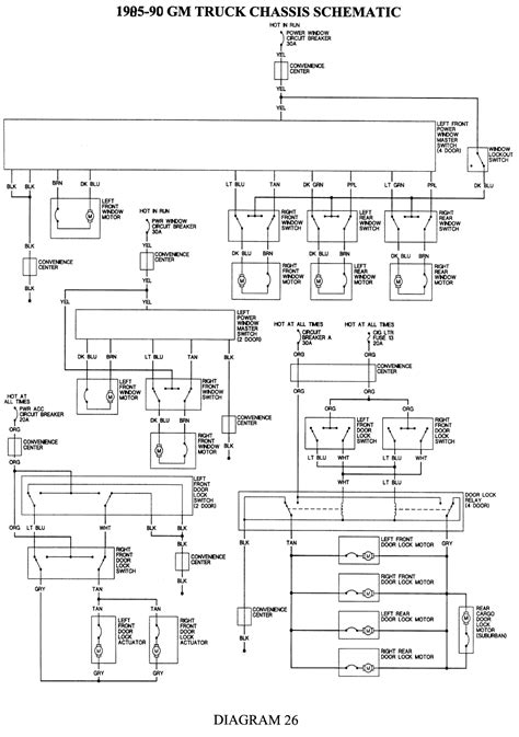 1988 chevy wiring diagram wiring diagram image information i am looking for a wiring diagram for a 1988 chevy 1500 power window i am trying to take a door