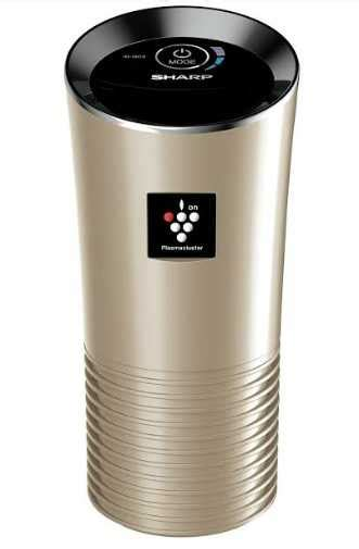 Sharp Air Purifier Portable Sharp Launches Portable Car Air Purifier Ig Gc2 With Plasmacluster Technology Technuter