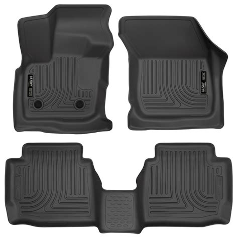 Ford Fusion All Weather Floor Mats by Husky Weatherbeater Floor Mats All Weather Liners Black Set Fit 2017 Ford Fusion Ebay