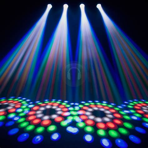 led disco light chauvet 4play bright rgb led dmx dj disco light ebay