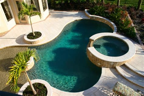 pools with spas 50 upscale backyard outdoor in ground swimming pools