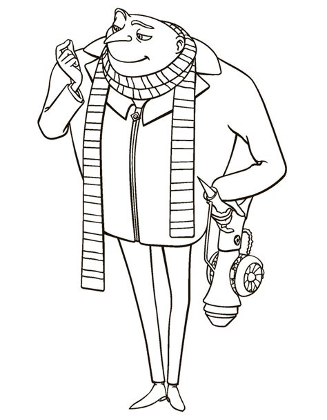 despicable me coloring pages 3 coloring kids