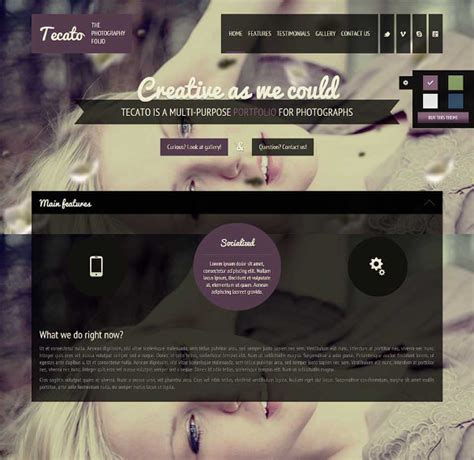 html5 templates free with css and jquery 33 jquery html5 website themes templates free