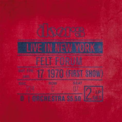 Live In New York the doors live in new york vinyl record