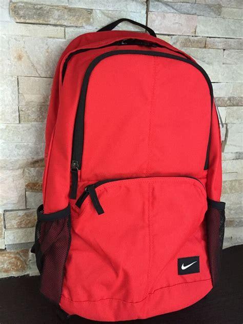 nike red backpack hayward  unisex red black ba
