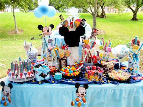 candy table for mickey mouse party parties ideas