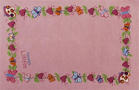 lillifee teppich prinzessin lillifee kinder teppich blumenkranz 214 ko tex