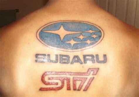 subaru tattoo tatuaggi auto i pi 249 strani foto 4 25 qnm