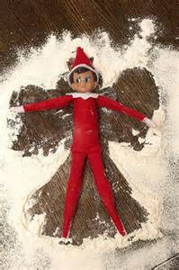 Mensch On Bench - elf on the shelf ideas