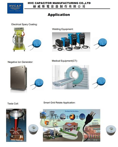 capacitor for applications χαρακτηριστικό αίτηση υψηλής τάσης κεραμικός πυκνωτής hvc πυκνωτής υψηλής τάσης κεραμικά