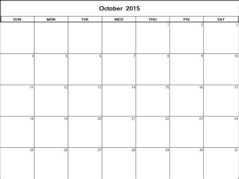 printable calendar 2015 net october 2015 printable blank calendar calendarprintables net