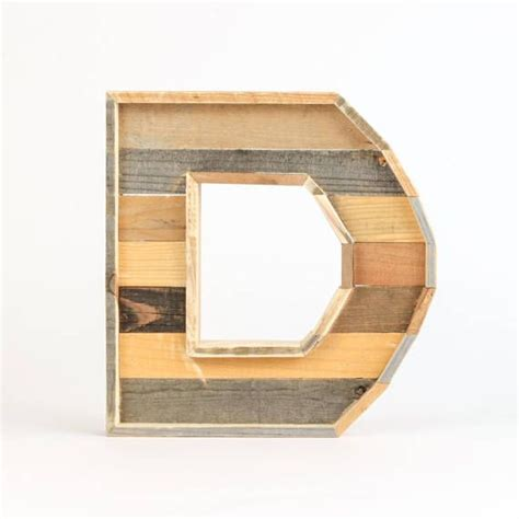 Wooden Wall Letters Large