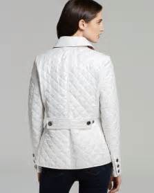 burberry brit women copford quilted jacket white copford