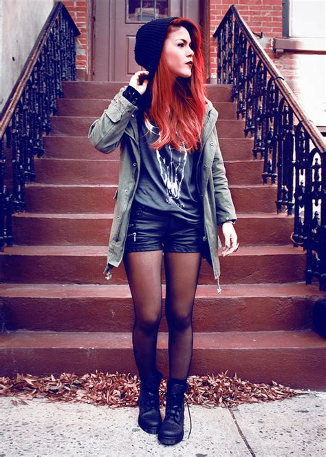 autumn clothes cool hair image 400079 on